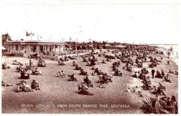 Beach Looking S. From South Parade Pier Southsea - Portsmouth