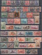 Saargebiet Lot 53 Marken Gestempelt - Briefmarken