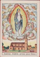 Heiligenprentje Image Pieuse Santini Heilige Santa Sainte Odilia Adele Odile Of Alsace Patroness Saint Good Eyesight - Images Religieuses