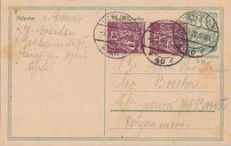 DR GS Zfr. Minr.2x 184 Berlin 3.7.22 Geprüft - Deutschland
