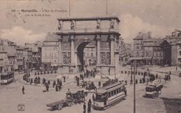 13 / MARSEILLE / L ARC DE TRIOMPHE / PORTE D AIX  / NANCY 195 - Marseille