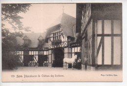 REF 312  : CPA Belgique SPA Dépendances Du Chateau Des Sorbiers - Spa