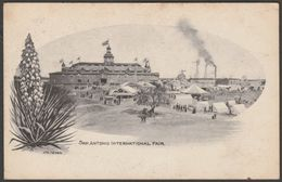 San Antonio International Fair, Texas, 1904 - Nic Tengg Postcard - San Antonio