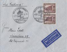 DR Luftpost-Brief MEF Minr.2x 640 SST Berlin 4.3.37 - Briefe U. Dokumente