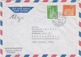 Brief Von Neuhausen Am Rheinfall (br2410) - Switzerland