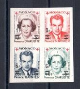 MONACO N° 379B / 382B - Unused Stamps