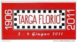 X Adesivo Stiker Etiqueta 95 TARGA FLORIO 2011 RALLY CM. 5 X 10 RALLY CIR - Automobilismo - F1