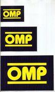 X 3 Adesivo Stiker Etiqueta Tuning OMP 11x17 8x12 5x7 - Automobilismo - F1
