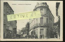 LEZIGNAN           AVENUE DE LA REPUBLIQUE ATTELAGE - Other Municipalities