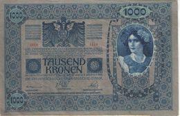 Tausend Kronen /Oesterreichisch-Ungarische BANK/ WIEN/1902                                                       BILL169 - Austria