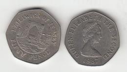 Jersey 50p Decimal 1987 (Large Format) Circulated - Jersey