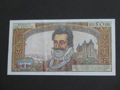 50 Nouveaux Francs - HENRI IV  7-4-1960   **** EN ACHAT IMMEDIAT ****   Billet Très Rare Dans L'état - 1959-1966 ''Nouveaux Francs''