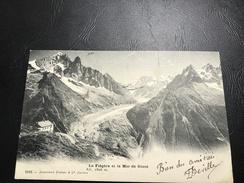 5183 - La Flégère Et La Mer De Glace - 1904 Timbrée - Chamonix-Mont-Blanc