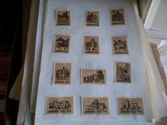 Drava Cities Of Yugoslavia Brown 12 Pieces - Scatole Di Fiammiferi - Etichette