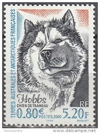 TAAF 2000 Yvert 265 Neuf ** Cote (2015) 2.70 Euro Chien De Traîneau Hobbs - Terres Australes Et Antarctiques Françaises (TAAF)