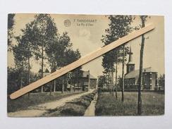TANGISSART «LE RY D'HEZ « Superbe Panorama,animée,église(1920/1928)Édit Fernand Tichoux «ALBERT «nº 7. - Court-Saint-Etienne