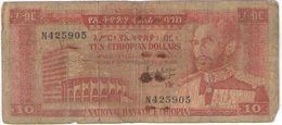 10 TiNC/National Bank Of Ethiopia//1966 ?                                                      BILL175 - Ethiopië
