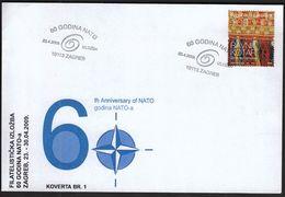 Croatia Zagreb 2009 / NATO 60th Anniversary / Philatelic Exhibition - Croatie