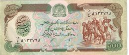 500 Afghanis/ Da Afghanistan Bank //Date  ?                                                      BILL176 - Afghanistan
