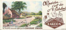 BUVARD ANCIEN CHOCOLAT CARDON N°19461 - Cocoa & Chocolat
