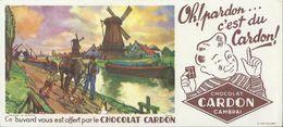 BUVARD ANCIEN CHOCOLAT CARDON N°19430 - Cocoa & Chocolat