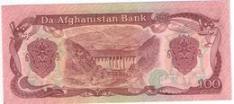 100 Afghanis/ Da Afghanistan Bank //Date  ?                                                      BILL177 - Afghanistan