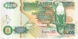 20 Kwachas/ Bank Of Zambia//  1992                                                      BILL179 - Zambie