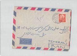 15714 MUNCHEN TO TEHERAN IRAN - 1959 AIR MAIL - [7] République Fédérale