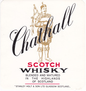 SCOTCH WHISKY  CHATHALL  STANLEY HOLT & SON GLASGOW  SCOTLAND / Cornemuse - Whisky