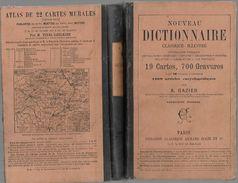 D330  Dictionnaire Classique Illustré De 1888 édition Armand Colin - Dictionaries
