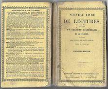D332  Nouveau Livre De Lecture Offrant Un Tableau Historique De La Religion De 1843 - Dictionaries