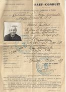 SAUF-CONDUIT  N°31272 - TOULON VAR  1939  RF - - Documents