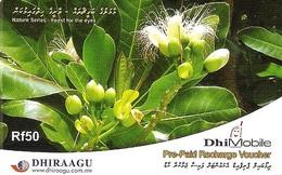*IS. MALDIVE* - Scheda Usata (recharge Voucher) - Maldives