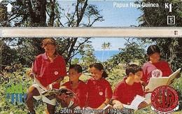 *PAPUA NUOVA GUINEA* - Scheda Usata - Papua-Neuguinea
