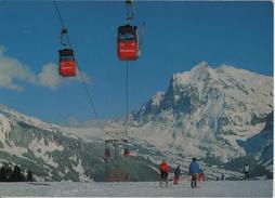 Gondelbahn Grindelwald-Männlichen, Wetterhorn - Skipiste - Photo: Gyger - BE Berne