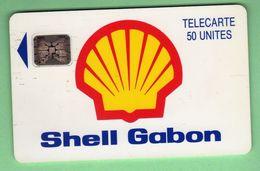 Shell GABON *** SC5 *** TTBE *** (A2-P11) - Gabon
