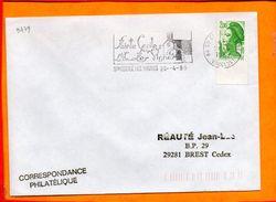 VAUCLUSE, Ste Cecile Les Vignes, Flamme SCOTEM N° 9479 - Marcofilie (Brieven)