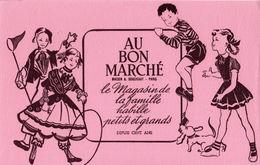 """BUVARD ANCIEN """"AU BON MARCHE"""" - Textile & Clothing"""