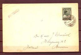 1936 , BÉLGICA , PRIMER DIA , SOBRE CIRCULADO A BUSSUM , YV. 440 , IMPRESOS , PRINCE BAUDOUIN - Belgien