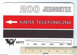 POLAND 4 - 200u BANANAS Noire 56mm 1ère Série MINT NEUVE POLAND URMET - Pologne