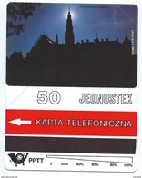 POLAND 9 - 50u CZESTOCHOWA - JASNA GORA SIERPIEN Sans Surcharge 1991 MINT NEUVE POLAND - Pologne