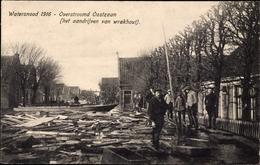 Cp Oostzaan Nordholland,, Watersnood 1916, Overstroomd, Hochwasser - Nederland
