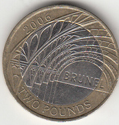 Great Britain £2 Two Pound Coin (Paddington Arches) - Circulated - 1971-… : Monnaies Décimales