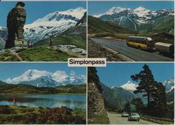 Simplonpass - Brig-Simplon-Gondo - Postauto, Oldtimer - Photo: Klopfenstein - VS Valais