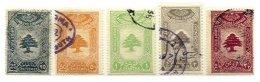 LEBANON, Revenues, Used, F/VF - Liban