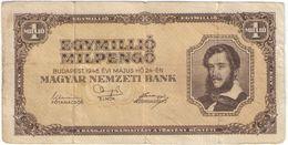 Egyimillio Milpengo / Magyar Nemzeti Bank /1946                BILL189 - Hungary