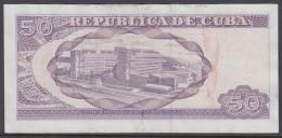 2015-BK-62 CUBA 50$ 2015 CALIXTO GARCIA REPLACEMENT REEMPLAZO SERIE BZ VF-XF - Cuba