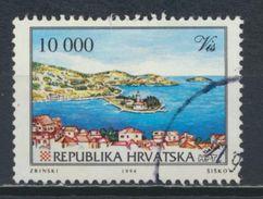 °°° CROAZIA - Y&T N°223 - 1994 °°° - Croatia