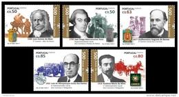 Portugal 2017 Mih. 4333/37 Postal Service In Portugal II. Horses. Automobile MNH ** - 1910-... République