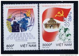 Vietnam MNH Perf Withdrawn Stamps 2002 : Implementing The Resolution Of Viet Nam Communist Party's 9th Congress (Ms878) - Viêt-Nam